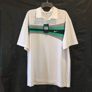 Nike Men's Dri-fit Golf Shirt NWT Size XL